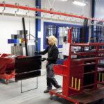 conveyorsystem, Pulverlackeringsanläggningar från Greiff, conveyoranläggning